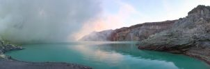 Ijen Crater Lake by ProfSmiles