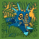 Styracosaurus Jungle - Neatorama Shirt by raven-amos