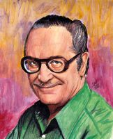 Forrest J Ackerman - Famous Monsters creator by smjblessing