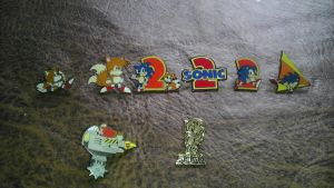 Sonic Pins by spaceman022