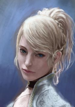 Realist study, lunafreya again from kingsglaive by piter235