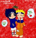 SasuNaru Christmas by Near--Mizuru-chan