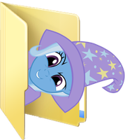 Custom Trixie folder icon by Blues27Xx