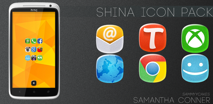 Shina Icons by sammyycakess
