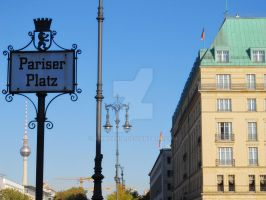 Pariser Platz by amhxania