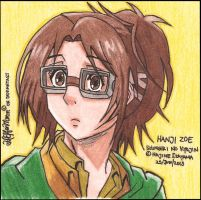 Hanji Zoe at Pencil Color by ValElfenMoon