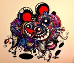 these demon mice by nteko