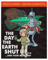 The day the earth shut up. by JCMaziu