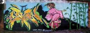 7_champloo graff mural by Qi-Li