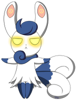 Meowstic by PokuMii