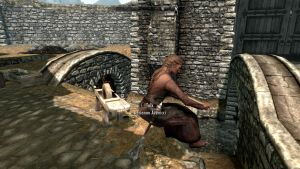Skyrim: Obvious Glitch is Obvious by FlygonPirate