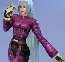 Kula Diamond - default outfit by XkairiSakura