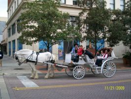 Horse carriage by Huop