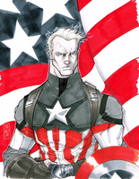 Captain America by Hodges-Art