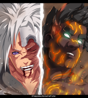 Madara vs Gai - Naruto 672 by StingCunha