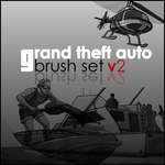 Grand Theft Auto Brush Set v2 by SlimTrashman