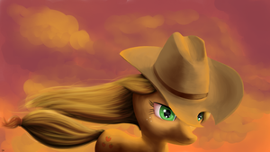 Cowgirl by Drakmire