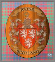 Ross Scottish Coat Of Arms by DCRIII