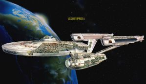 USS ENTERPRISE A by willvoy