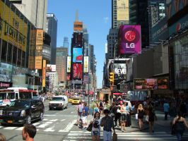 NYC N 7th Avenue and W 44th Street (Times Square) by PaulRokicki