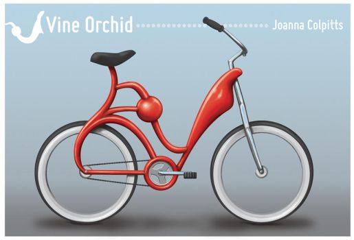 Vine Orchid Bicycle by chibi-muse