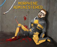Too much morphine by Zumf