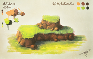 Training - Grass on Rock by soon38