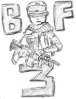 Battlefield 3 Soldier by Awesome-Leaf