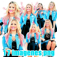 Pack png 46 Demi Lovato by MichelyResources