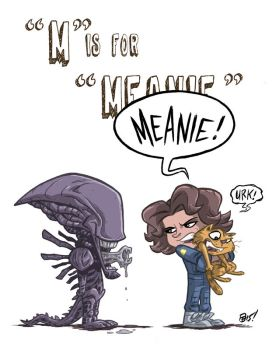 M Is For Meanie by OtisFrampton