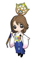 Chibi - Yuna by AnjiDaDistroyer