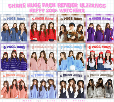 010717 // SHARE HUGE PACK PNGS (PART 1) by MSS2605