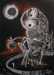 O,o ..... O is for Owl....!!!!!! by Ralu77