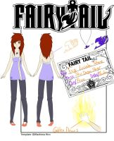 Fairy Tail Member card by coffaefox
