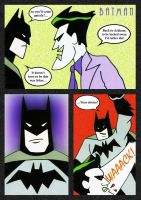 Batman Vs Joker by mikedaws