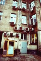 Warsaw 110 old tenement house by remigiuszScout
