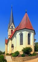 The village church of Allhaming II by patrickjobst