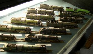 A collection of model locos by Stumm47