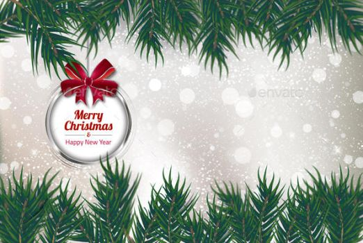 Christmas Background Card Vol.1 by another-graphic