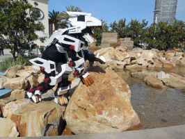 Wondercon 2015 - Liger Zero by MidnightLiger0