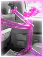 Pink Panther. In a car. by aneesah