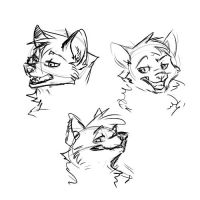 Some faces by Sidgi