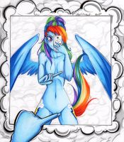 TCBY Commission: Rainbow Dash by dead-kittens3