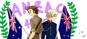 ANZAC DAY by Hitomi-Tong