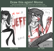Draw This Again: Jeff by gumskull