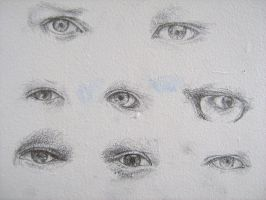 Eyes - detail III by violinsane