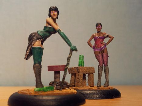 Malifaux Beckoners by Nickienogger