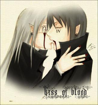 Kiss Of Blood by maamoria