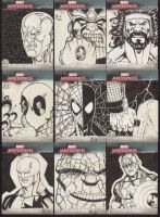 Marvel cards set 3 by Mulv