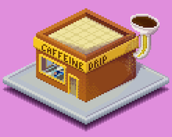 Pixel Art Academy Challenge Day 4 by hivernoir